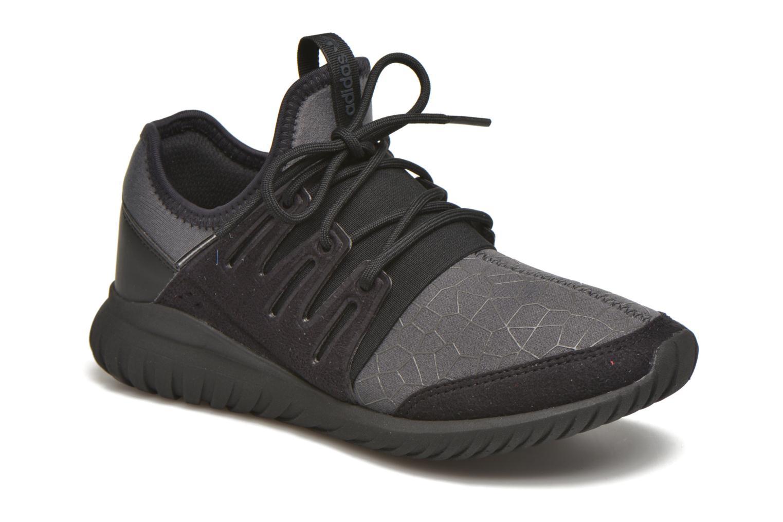 Trainers Adidas Originals Tubular Radial J Black detailed view/ Pair view