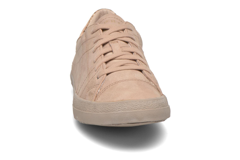 Sneaker Esprit Miana Lace Up 2 beige schuhe getragen