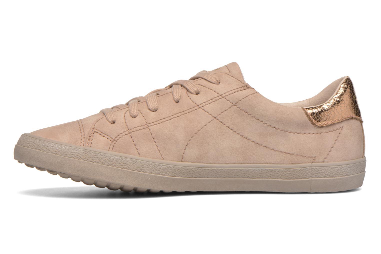 Sneaker Esprit Miana Lace Up 2 beige ansicht von vorne