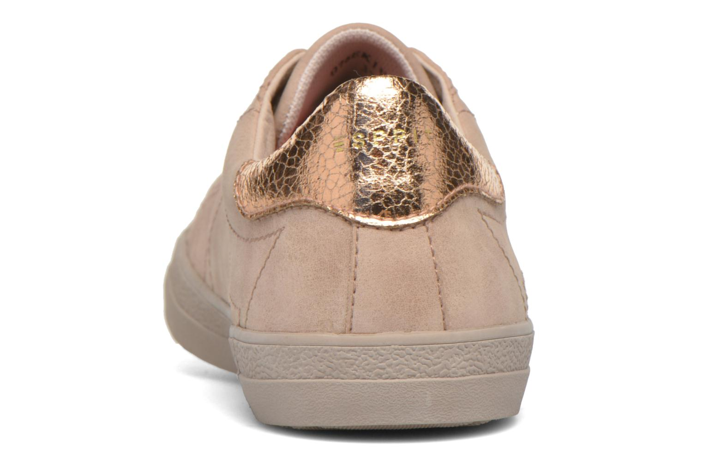 Sneaker Esprit Miana Lace Up 2 beige ansicht von rechts