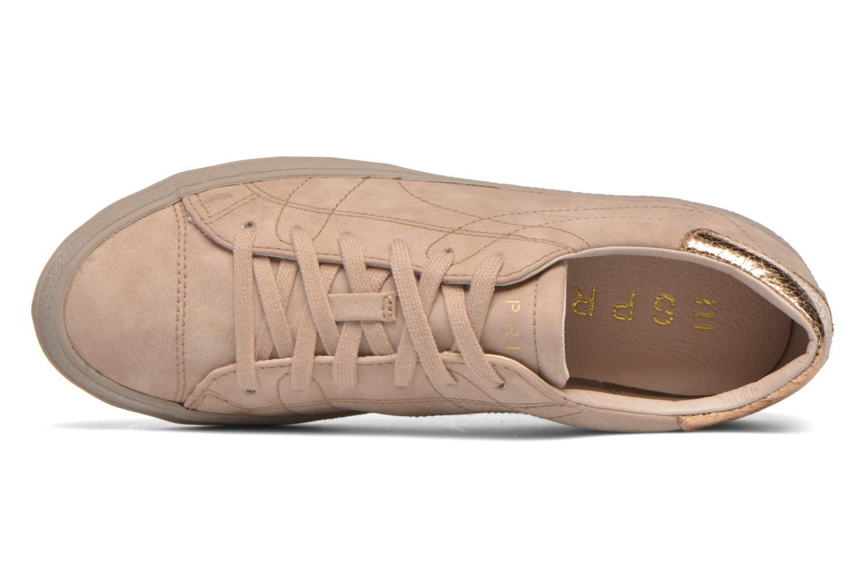 Sneaker Esprit Miana Lace Up 2 beige ansicht von links