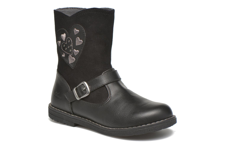 Støvler & gummistøvler Chicco Candis Sort detaljeret billede af skoene