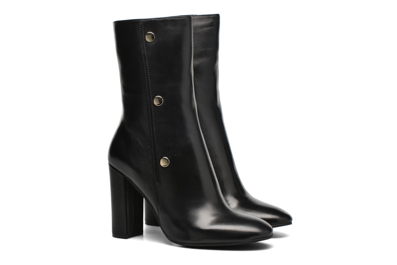 Bottines et boots Bruno Premi Alessandra Noir vue 3/4