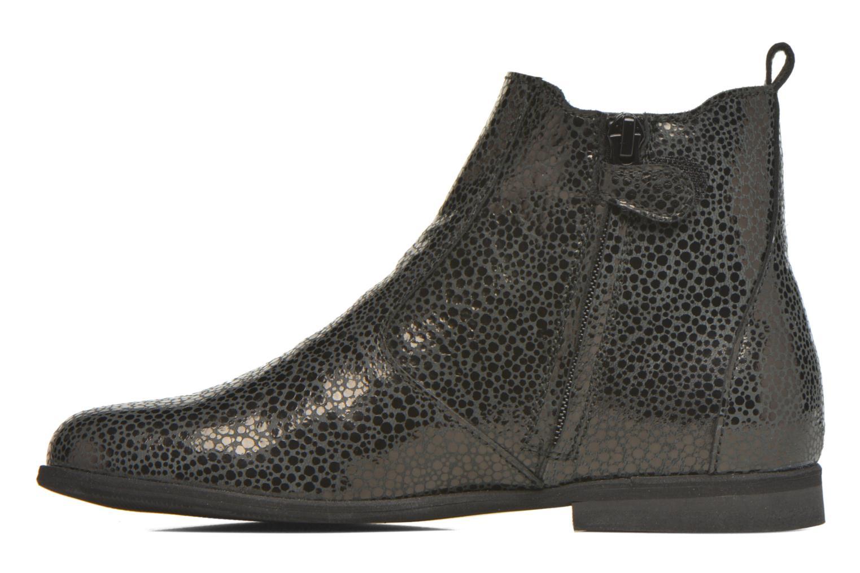 Ankle boots Manuela de Juan Constance 3 Black front view