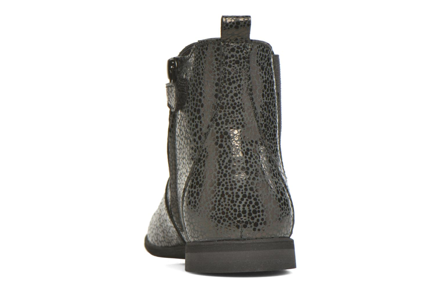Ankle boots Manuela de Juan Constance 3 Black view from the right