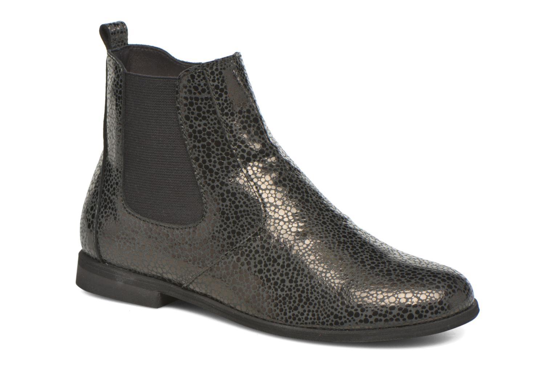 Ankle boots Manuela de Juan Constance 3 Black detailed view/ Pair view