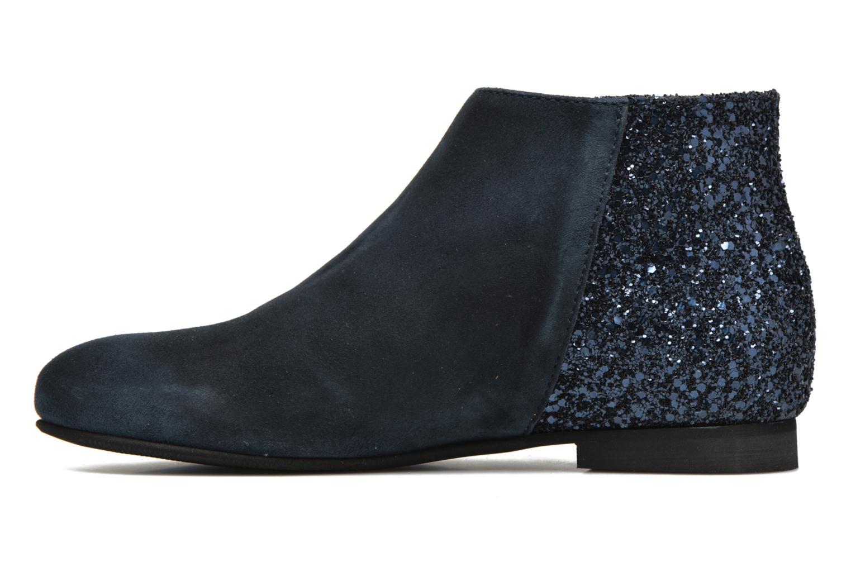 Ankle boots Manuela de Juan Jenifer Blue front view