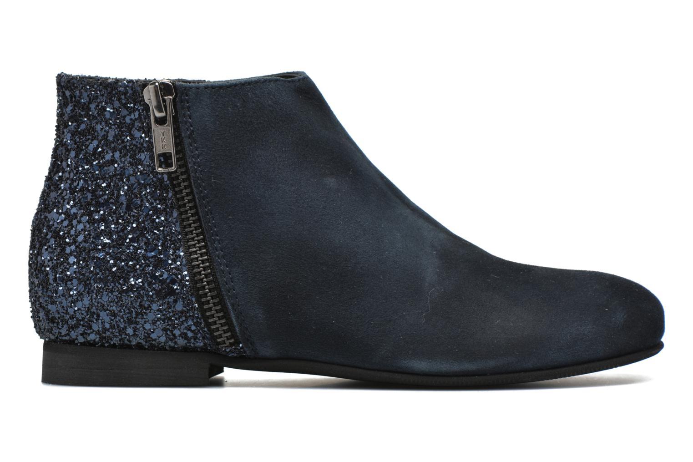 Ankle boots Manuela de Juan Jenifer Blue back view