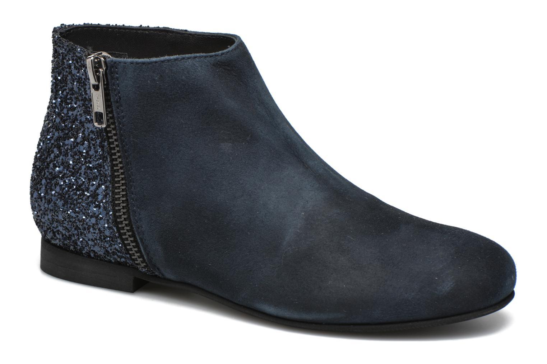 Ankle boots Manuela de Juan Jenifer Blue detailed view/ Pair view
