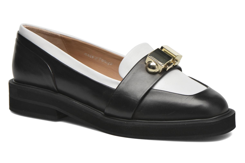 Loafers Carven Mocassin Sort detaljeret billede af skoene