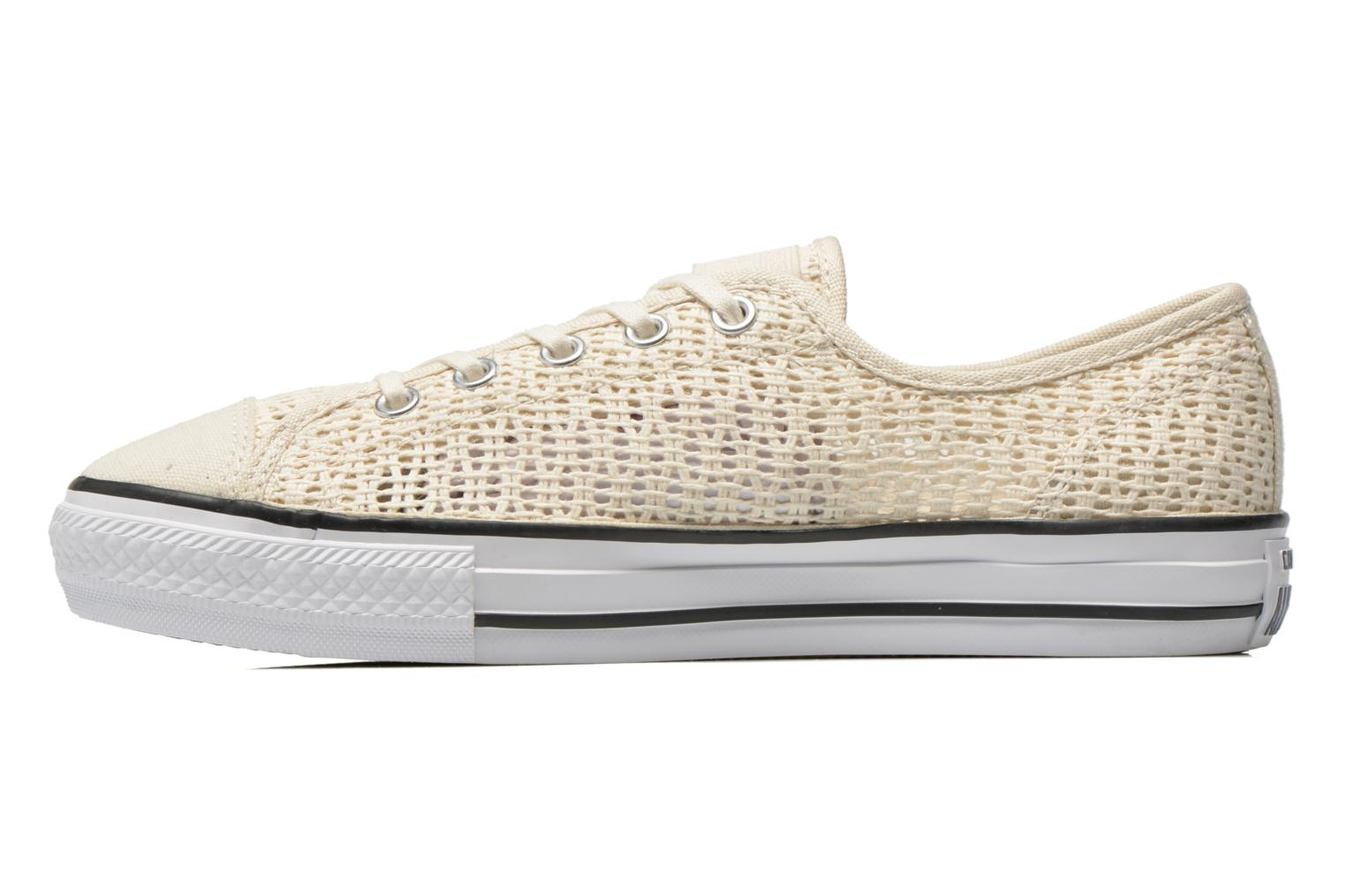 Sneakers Converse Chuck Taylor All Star High Line Ox Beige immagine frontale