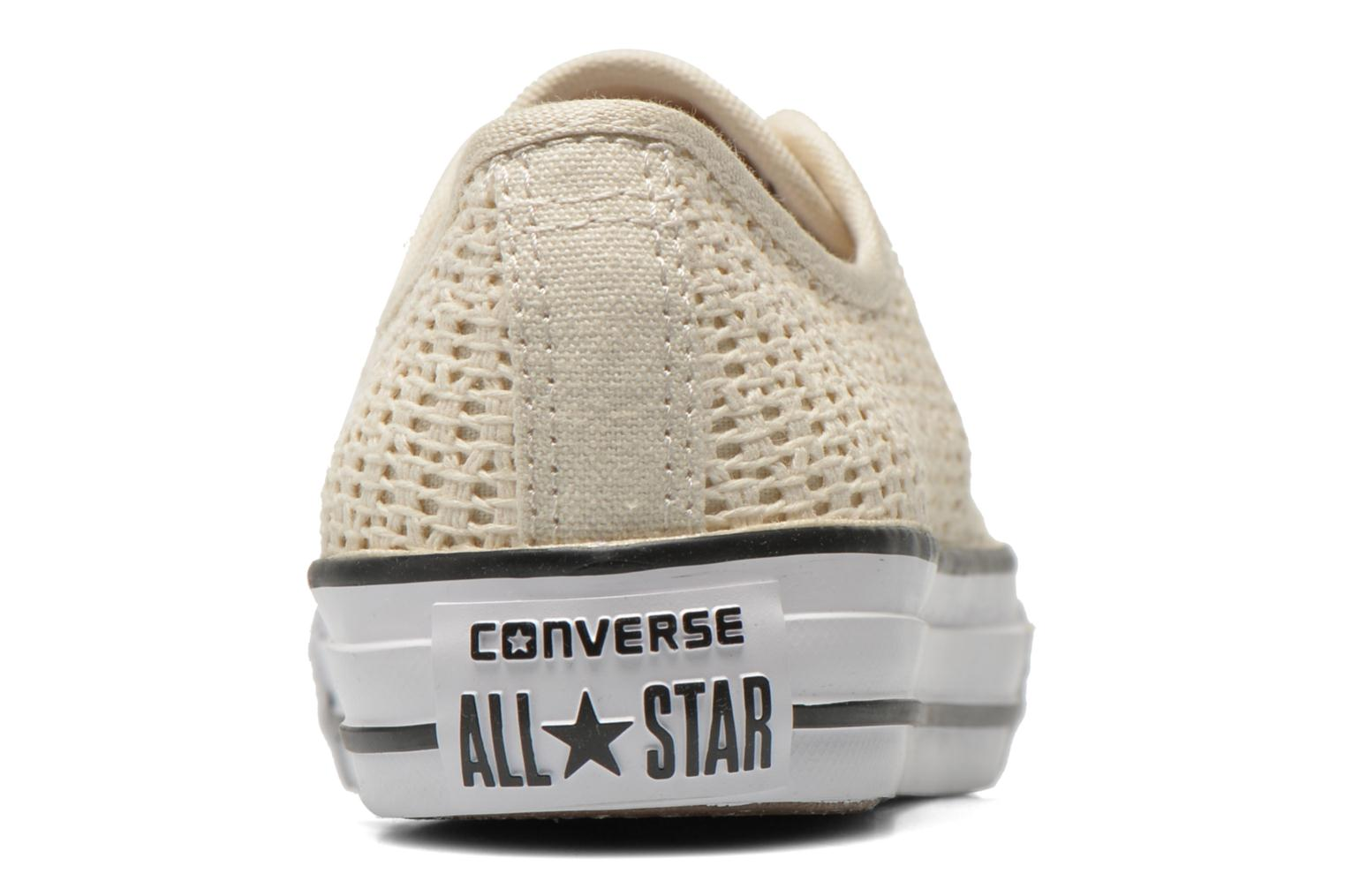 Deportivas Converse Chuck Taylor All Star High Line Ox Beige vista lateral derecha