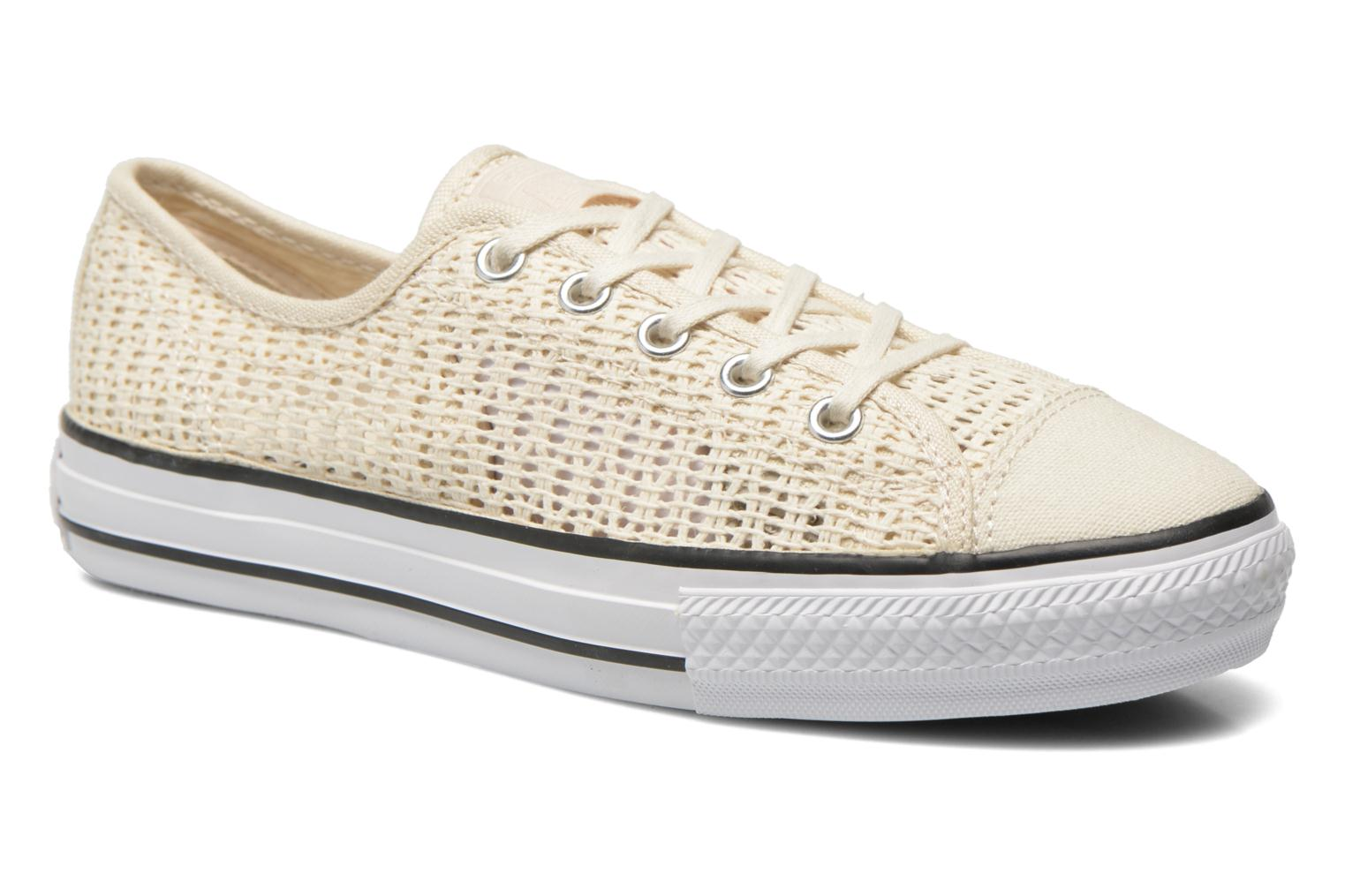 Chuck Taylor All Star High Line Ox Parchment-White-Black
