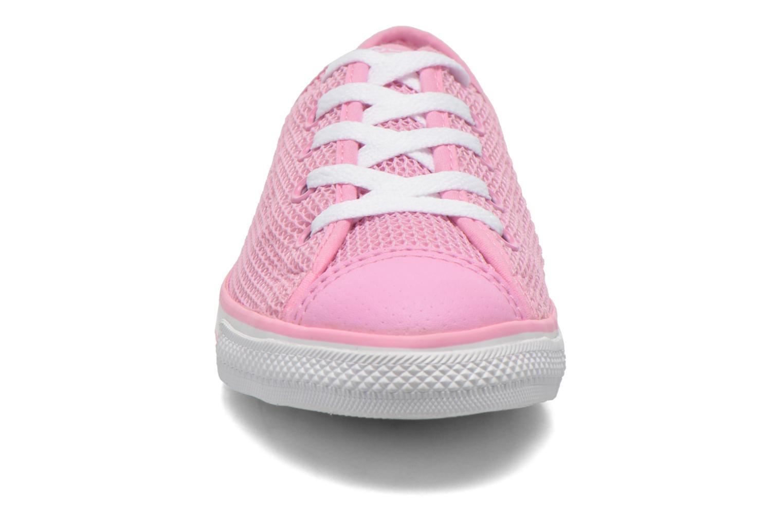 Sneaker Converse Chuck Taylor All Star Dainty Ox W rosa schuhe getragen
