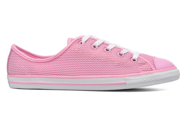 Sneaker Converse Chuck Taylor All Star Dainty Ox W rosa ansicht von hinten