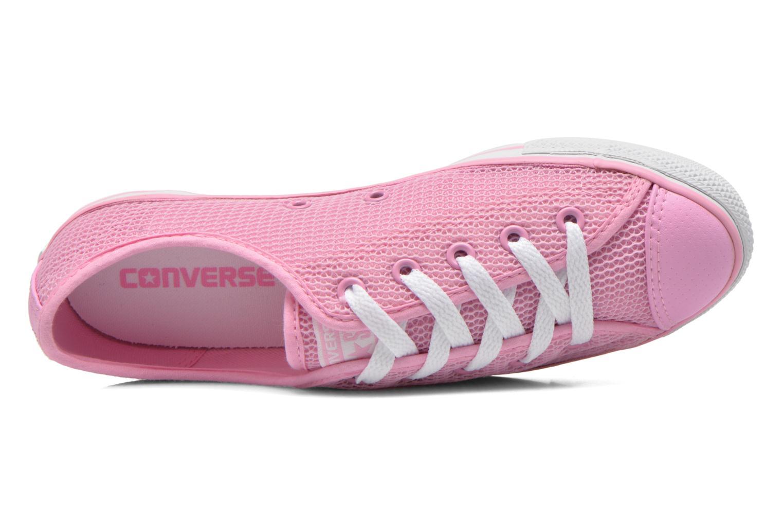 Sneaker Converse Chuck Taylor All Star Dainty Ox W rosa ansicht von links