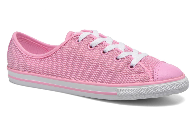Sneaker Converse Chuck Taylor All Star Dainty Ox W rosa detaillierte ansicht/modell