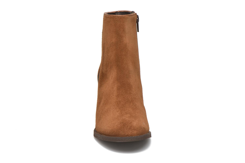 Bottines et boots Georgia Rose Celulu Marron vue portées chaussures