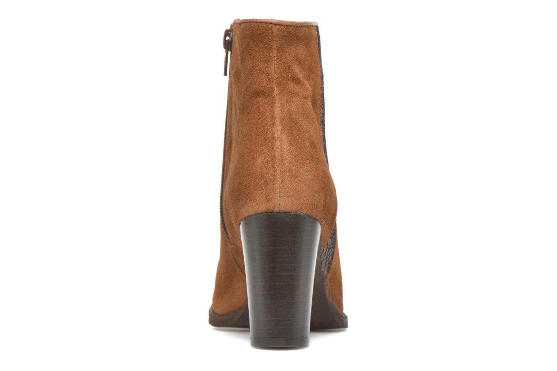 Bottines et boots Georgia Rose Celulu Marron vue droite