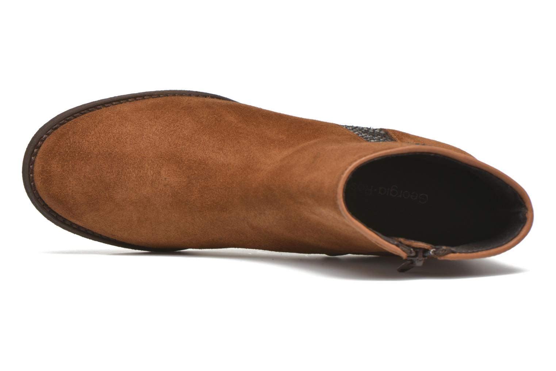Bottines et boots Georgia Rose Celulu Marron vue gauche