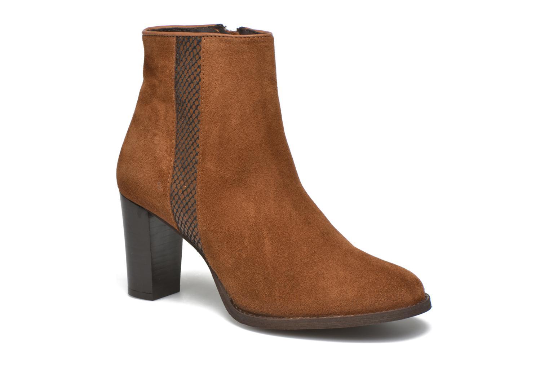 Bottines et boots Georgia Rose Celulu Marron vue détail/paire