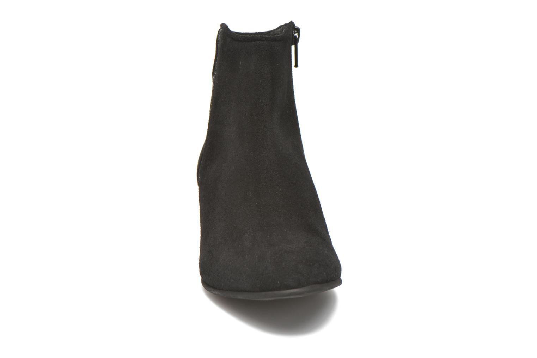 Bottines et boots Georgia Rose Celeri Noir vue portées chaussures