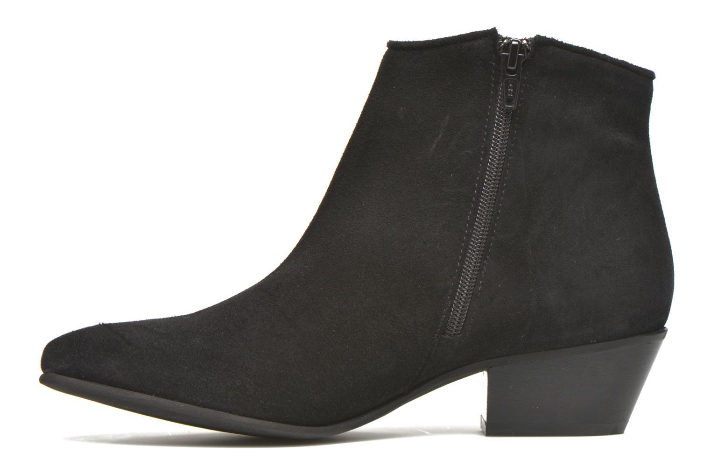 Bottines et boots Georgia Rose Celeri Noir vue face