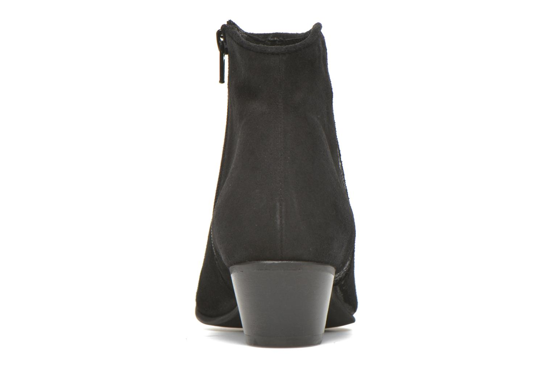 Bottines et boots Georgia Rose Celeri Noir vue droite