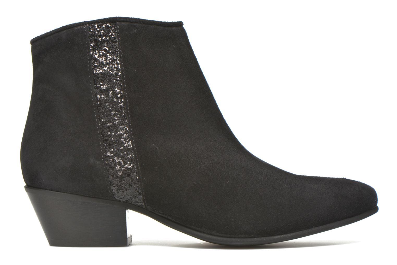 Bottines et boots Georgia Rose Celeri Noir vue derrière