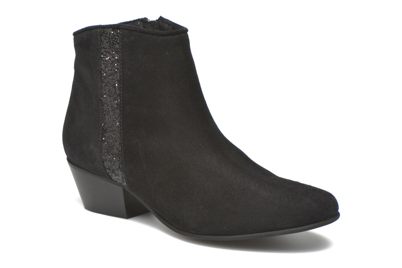 Bottines et boots Georgia Rose Celeri Noir vue détail/paire
