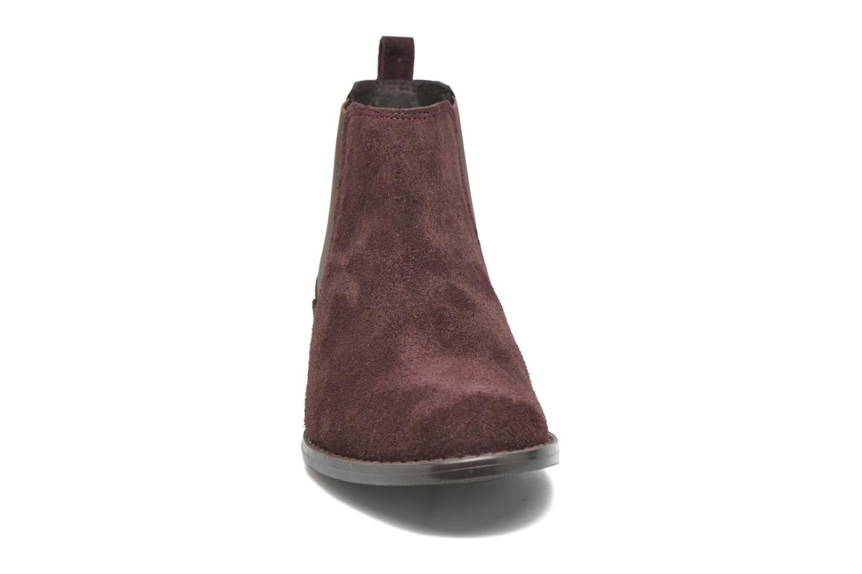 Celadon Cam Bordo + tejus estanho élastique marron