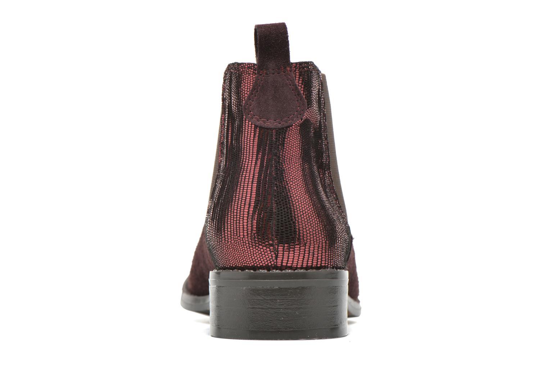 Bottines et boots Georgia Rose Celadon Bordeaux vue droite