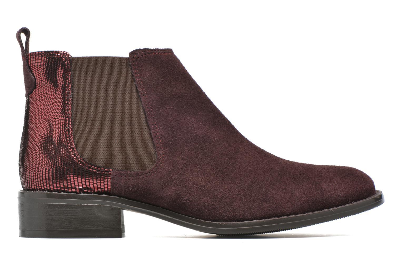 Bottines et boots Georgia Rose Celadon Bordeaux vue derrière