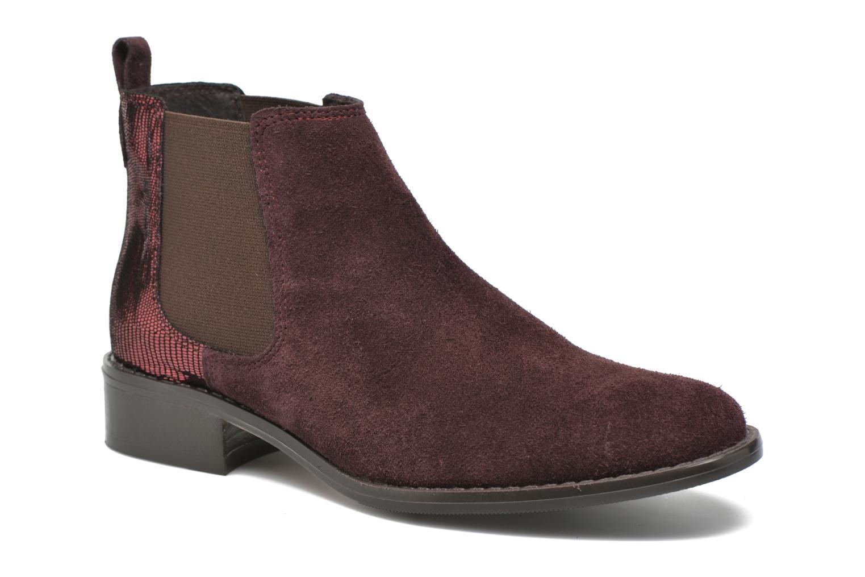 Bottines et boots Georgia Rose Celadon Bordeaux vue détail/paire