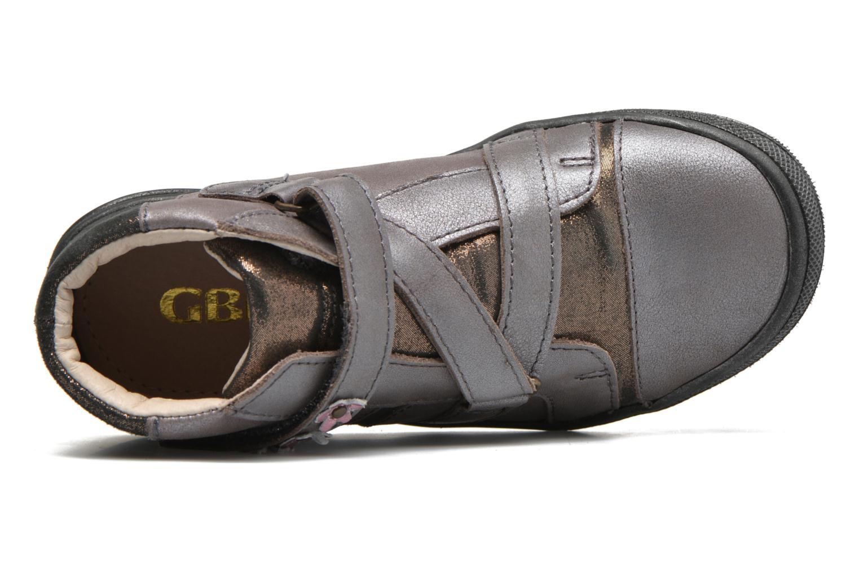 Sneaker GBB Nicoleta gold/bronze ansicht von links