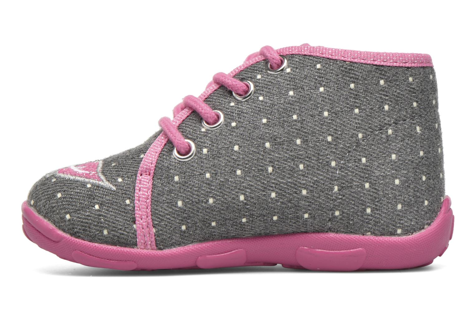 Chaussons GBB Niniano Gris vue face