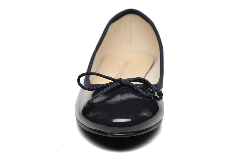 Ballerines Georgia Rose Siarma Bleu vue portées chaussures