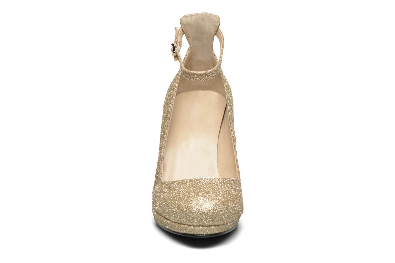 Peacock Glitter Champagne