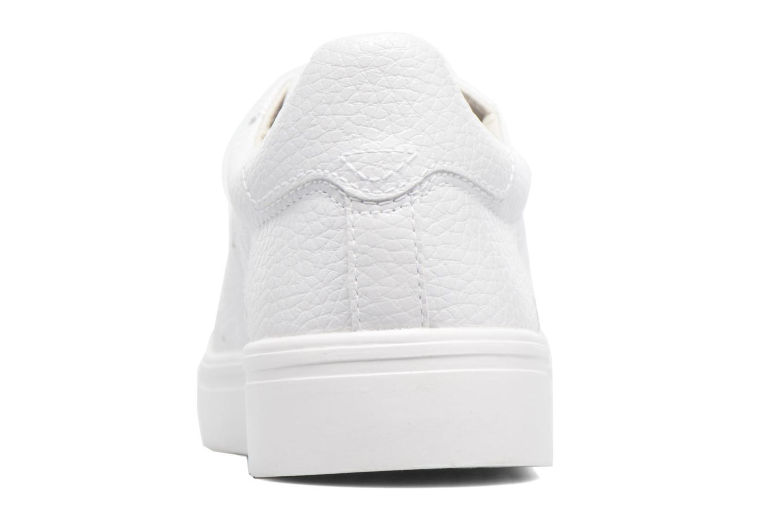 Baskets Esprit Lizette Lace Up Blanc vue droite