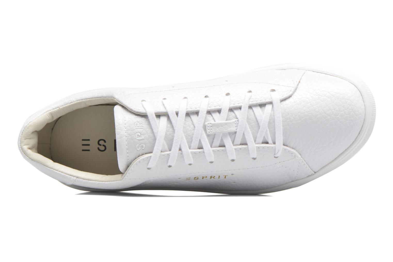 Baskets Esprit Lizette Lace Up Blanc vue gauche