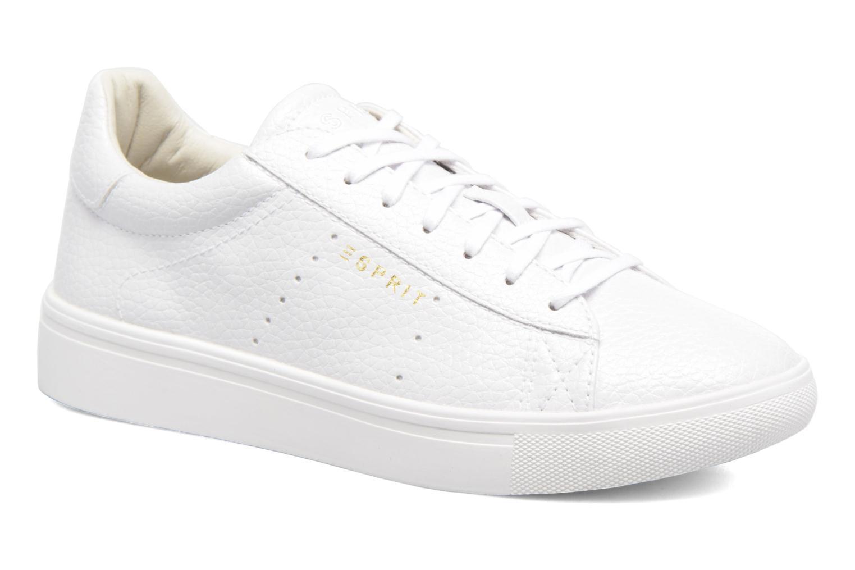 Baskets Esprit Lizette Lace Up Blanc vue détail/paire
