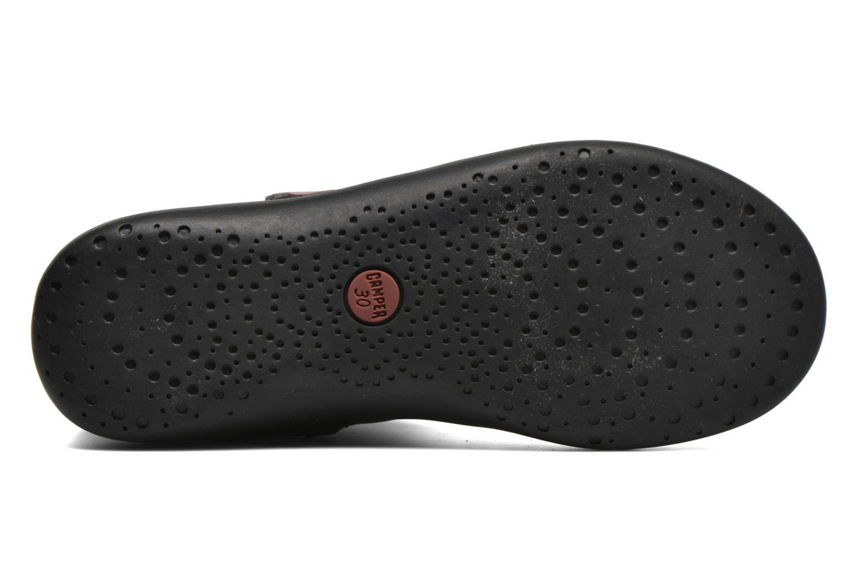 Stiefel Camper TWS Knot schwarz ansicht von oben