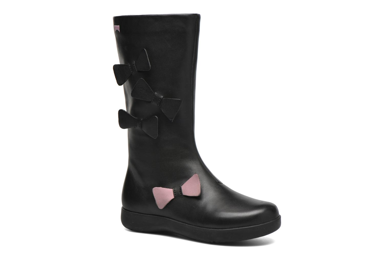 Stiefel Camper TWS Knot schwarz detaillierte ansicht/modell
