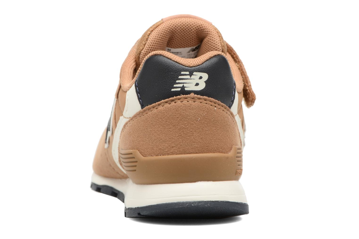 Trainers New Balance KV996 J Brown view from the right