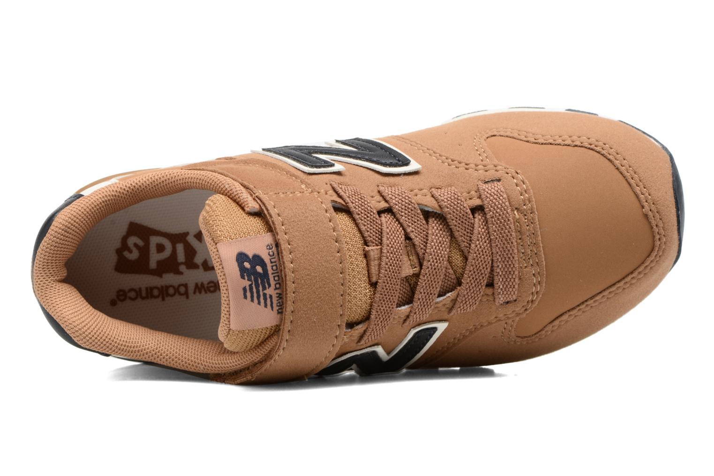 Sneaker New Balance KV996 J braun ansicht von links