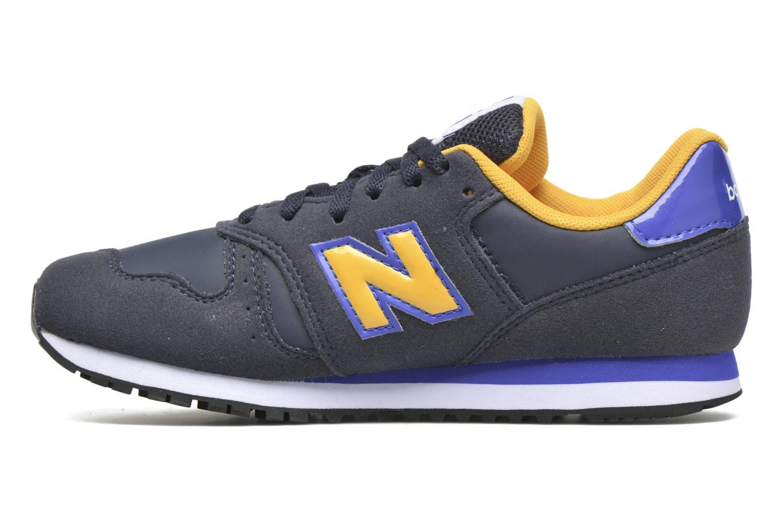 Sneakers New Balance KJ373 J Blauw voorkant