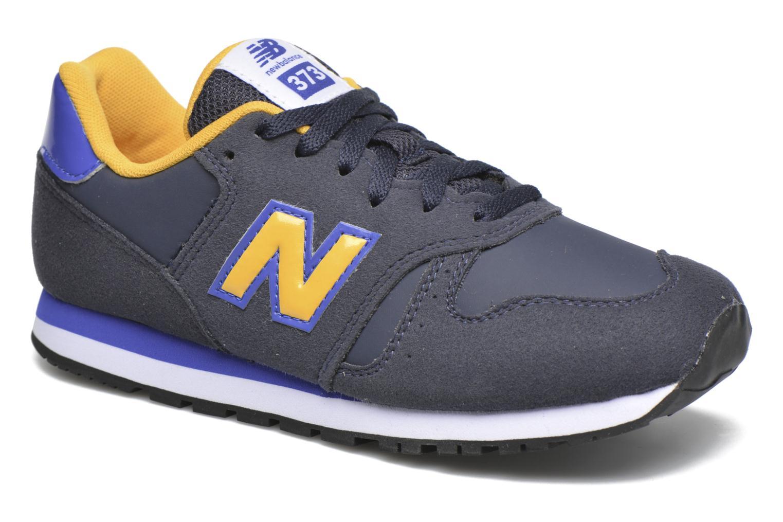 Sneakers New Balance KJ373 J Blauw detail