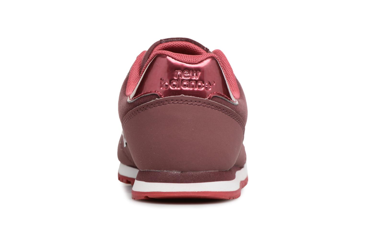 Sneakers New Balance KJ373 J Bordeaux rechts
