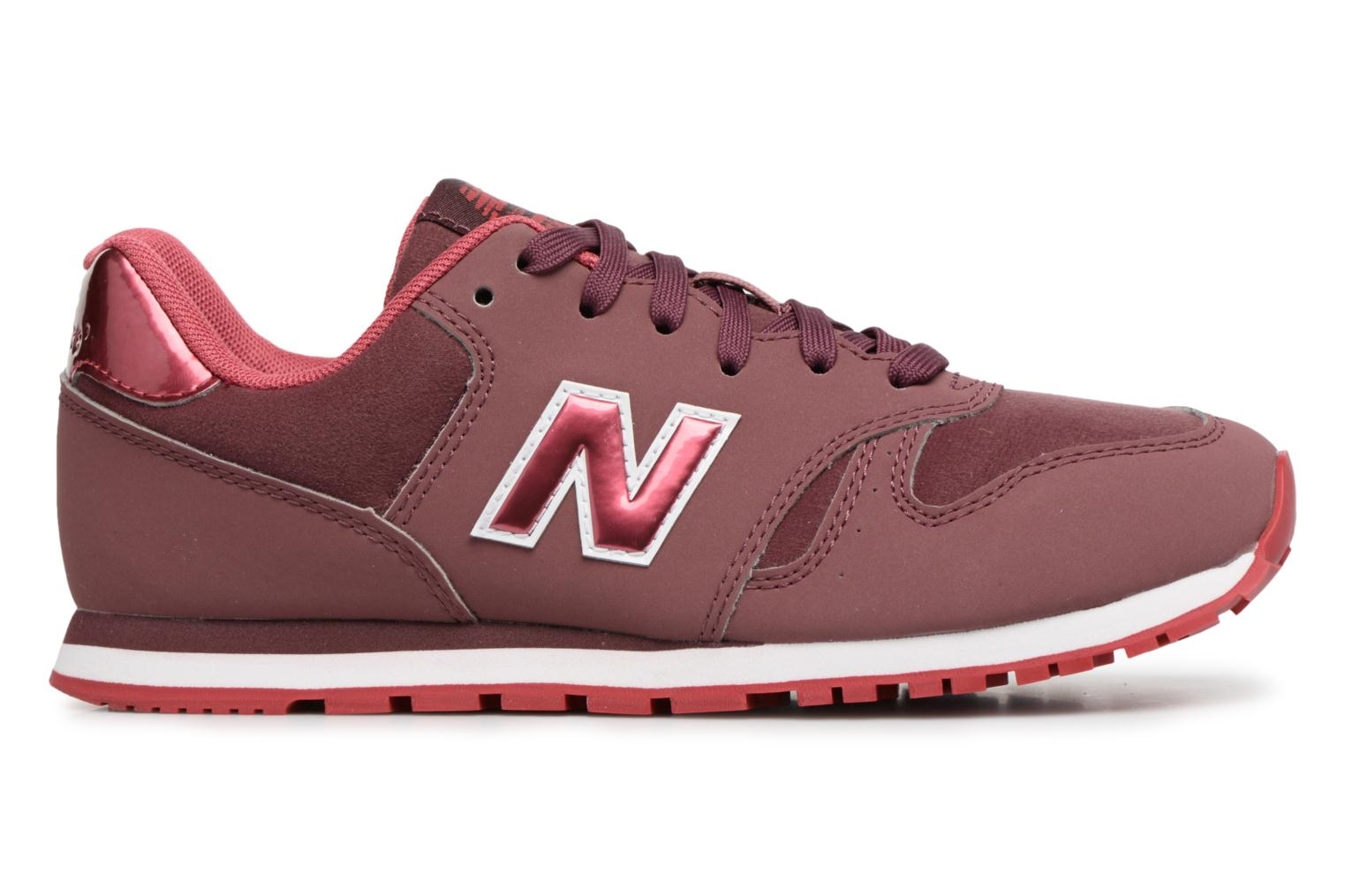 Sneakers New Balance KJ373 J Bordeaux achterkant