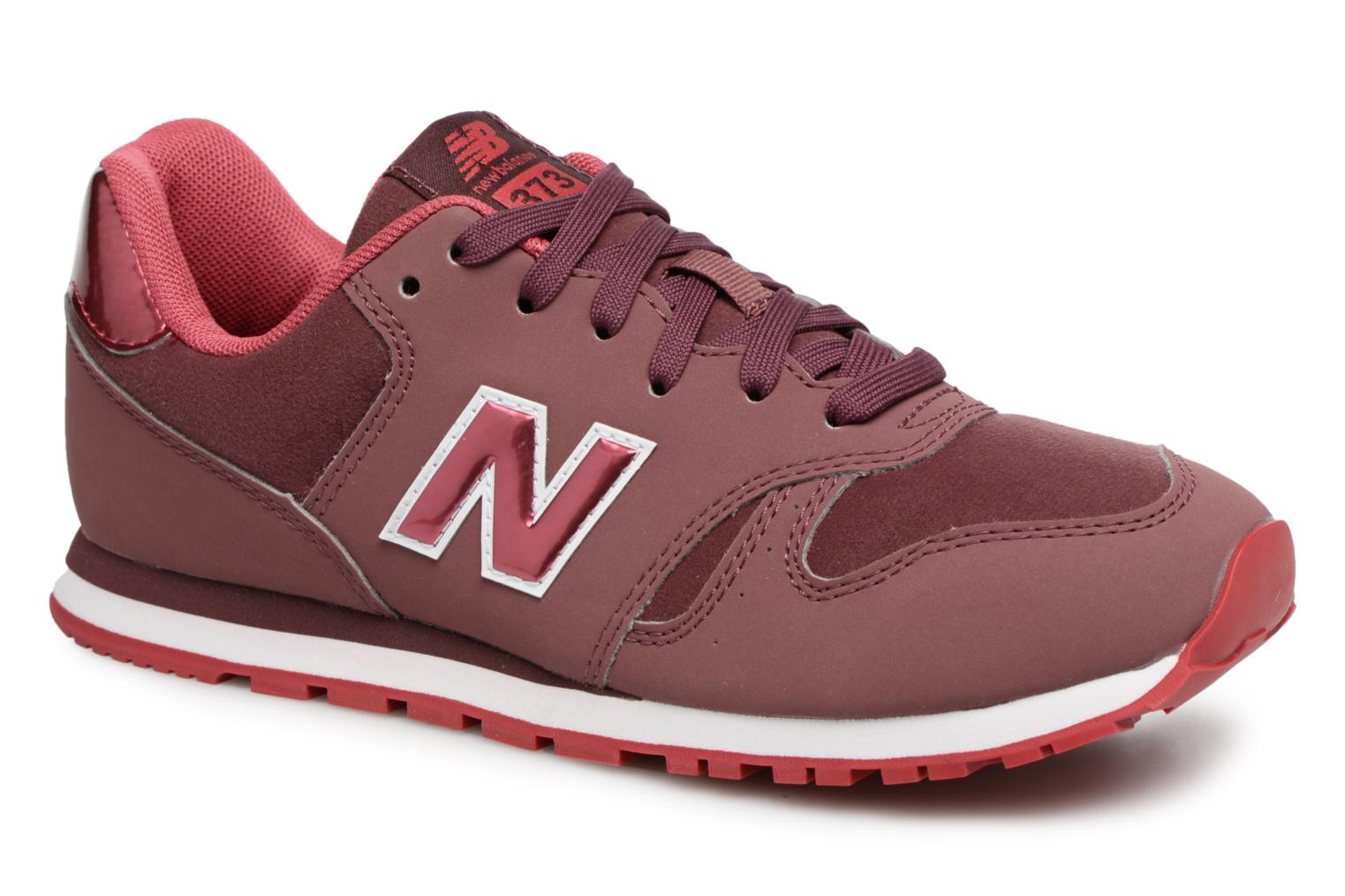 Sneakers New Balance KJ373 J Bordeaux detail